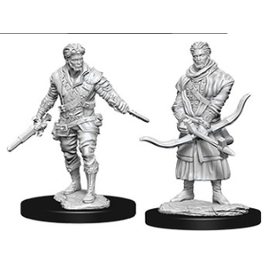 WizKids D&D Nolzur's Marvelous Miniatures: Human Male Rogue (W9)