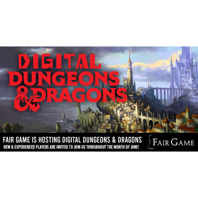Wizards of the Coast Admission: Digital Dungeons and Dragons Learn to Play (July 1)