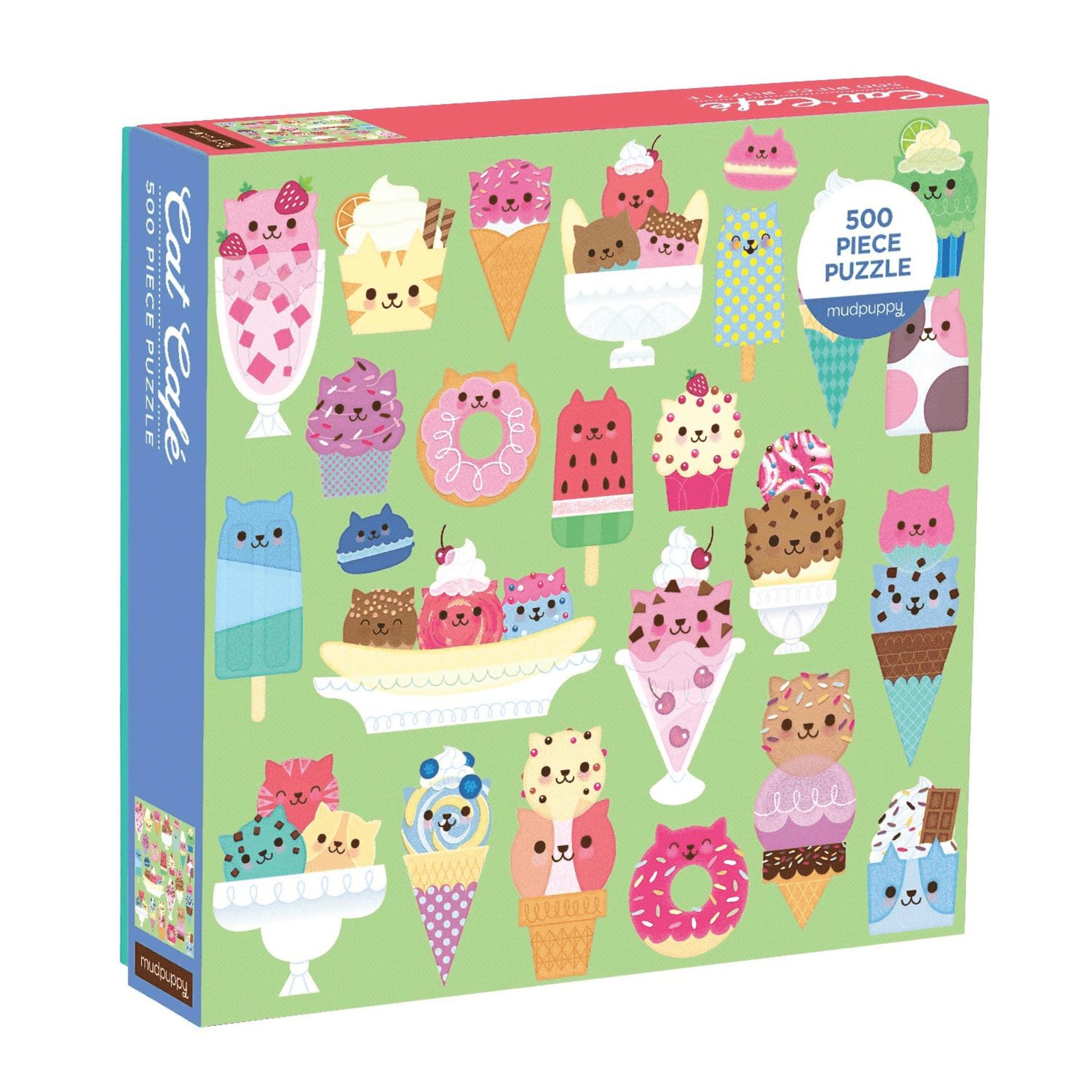 Mudpuppy Mudpuppy - 500 Piece Puzzle: Cat Cafe