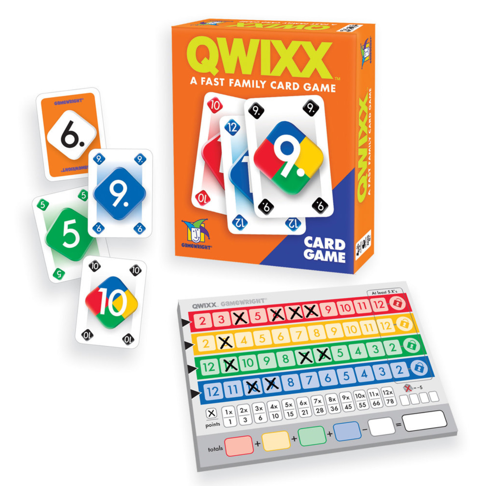 Gamewright Qwixx: Card Game