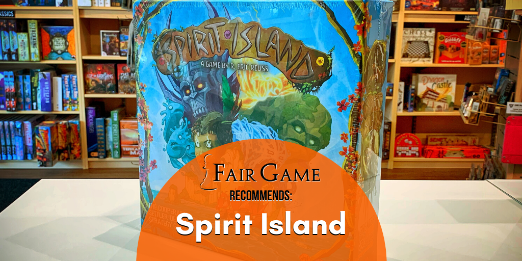 Spirit Island: A highly strategic game that rewards players for good planning.