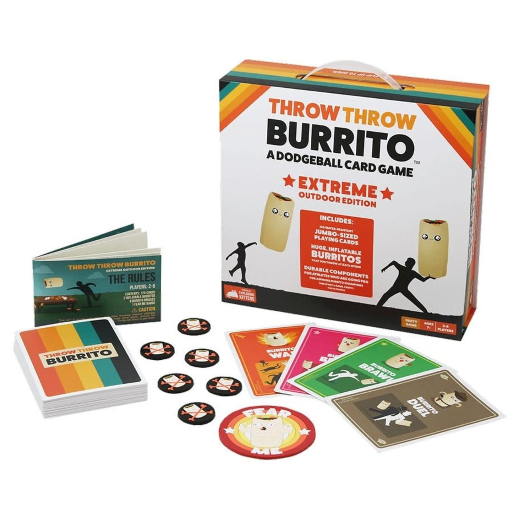 Exploding Kittens Throw Throw Burrito: Extreme Outdoor Ed