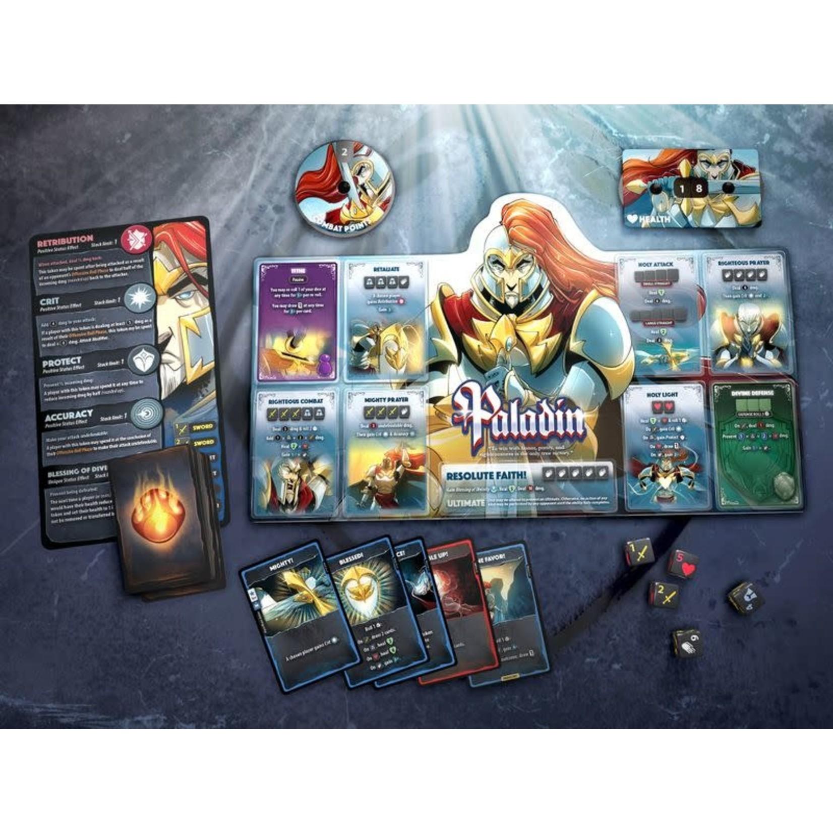 Roxley Games Dice Throne Season One: ReRolled Box 2 Monk v Paladin