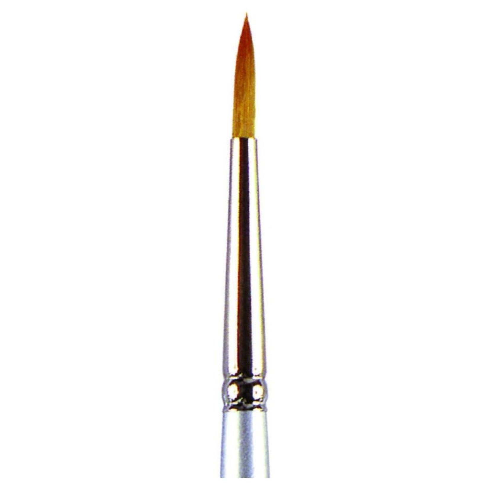 Vallejo Vallejo: Synthetic Toray Round Brush No.0