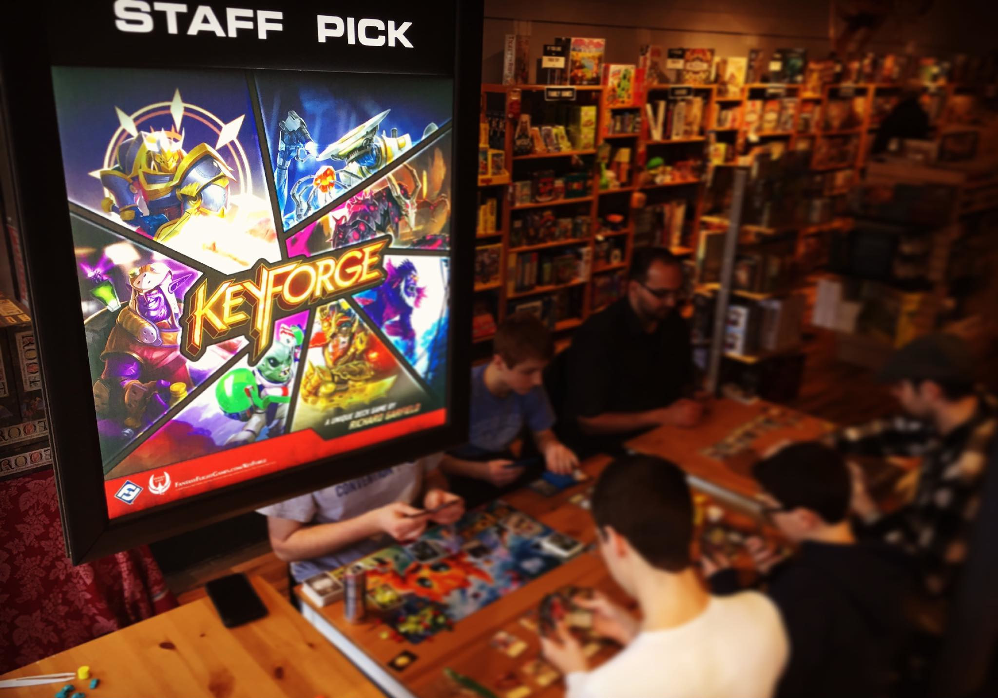 Keyforge : Expandable Fun for Two !