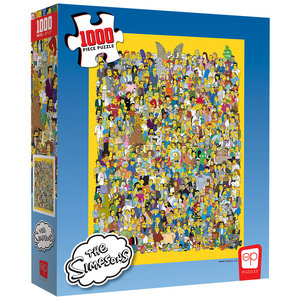 USAoploy The OP - 1000 Piece Puzzle: Simpsons Cast