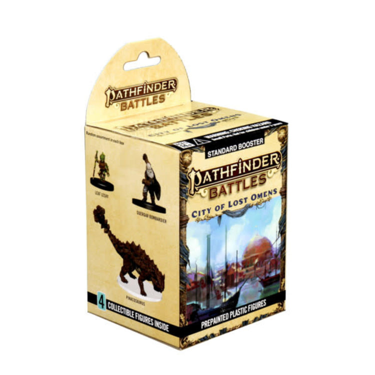 WizKids Pathfinder Battles Prepainted Miniatures: City of Lost Omens Booster
