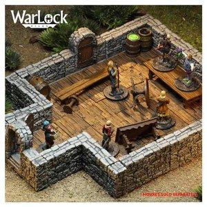 WizKids Wizkids D&D WarLock Tiles: Dungeon Tiles 1