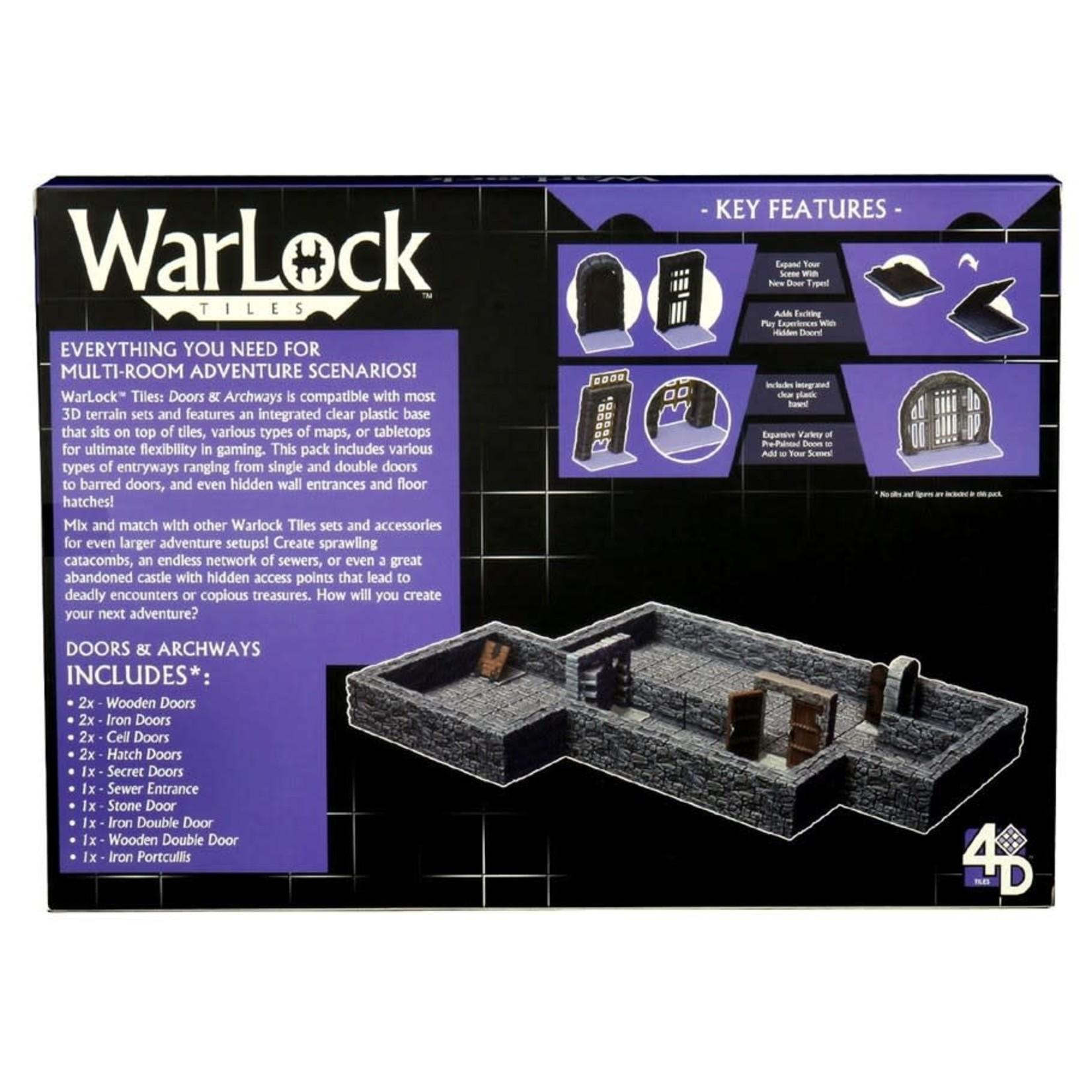 WizKids Wizkids D&D WarLock Tiles: Doors and Archways