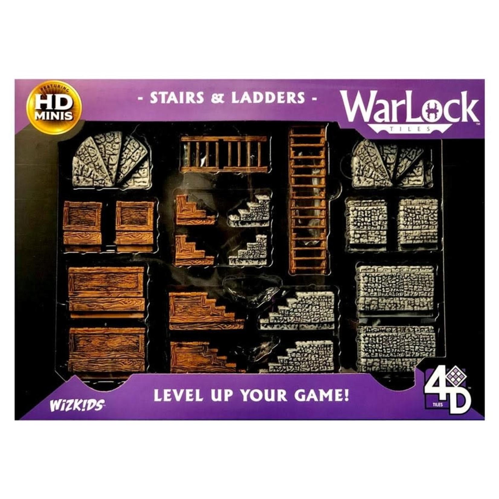 WizKids Wizkids D&D WarLock Tiles: Stairs and Ladders