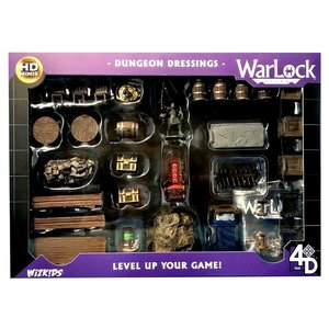 WizKids Wizkids D&D WarLock Tiles: Dungeon Dressings