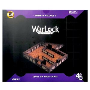 WizKids Wizkids D&D WarLock Tiles: Town and Village