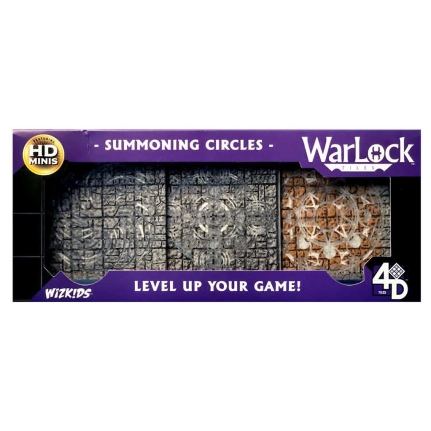 WizKids Wizkids D&D WarLock Tiles: Summoning Circles