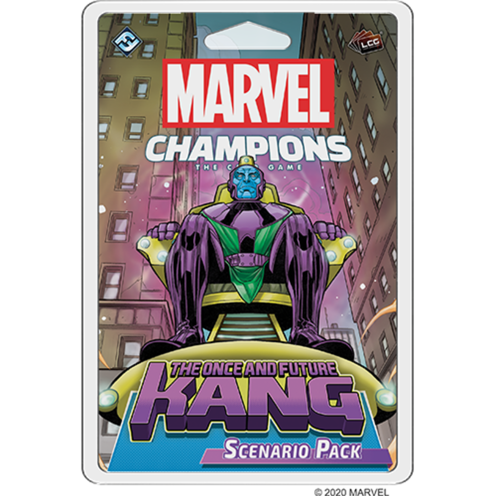 Fantasy Flight Games Marvel Champions Living Card Game: Once and Future Kang Scenario Pack