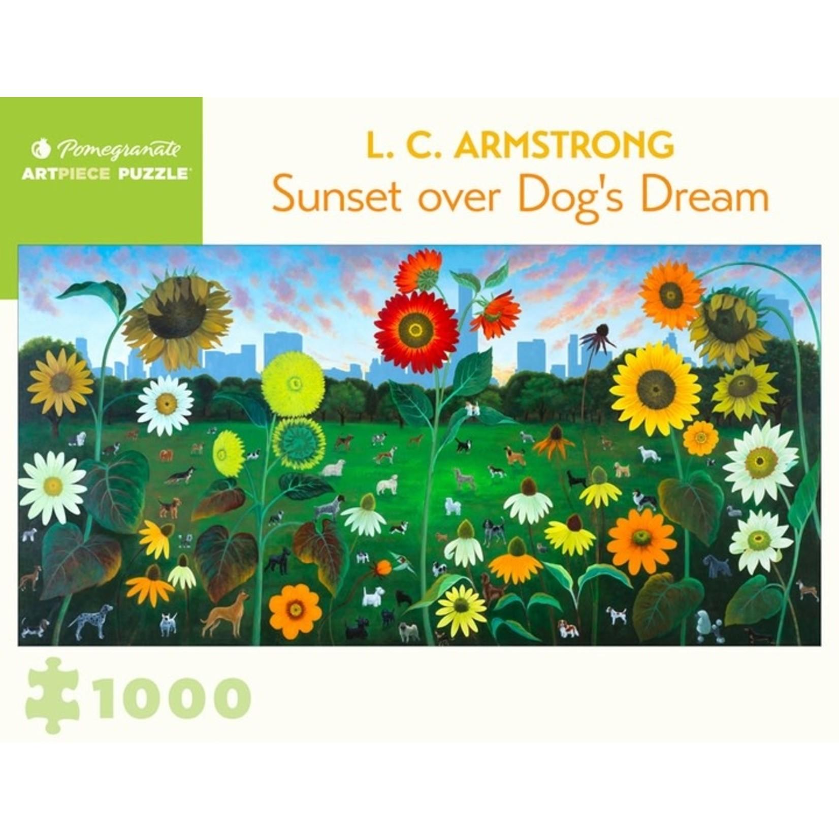 Pomegranate Pomegranate - 1000 Piece Puzzle: Sunset over Dog's Dream