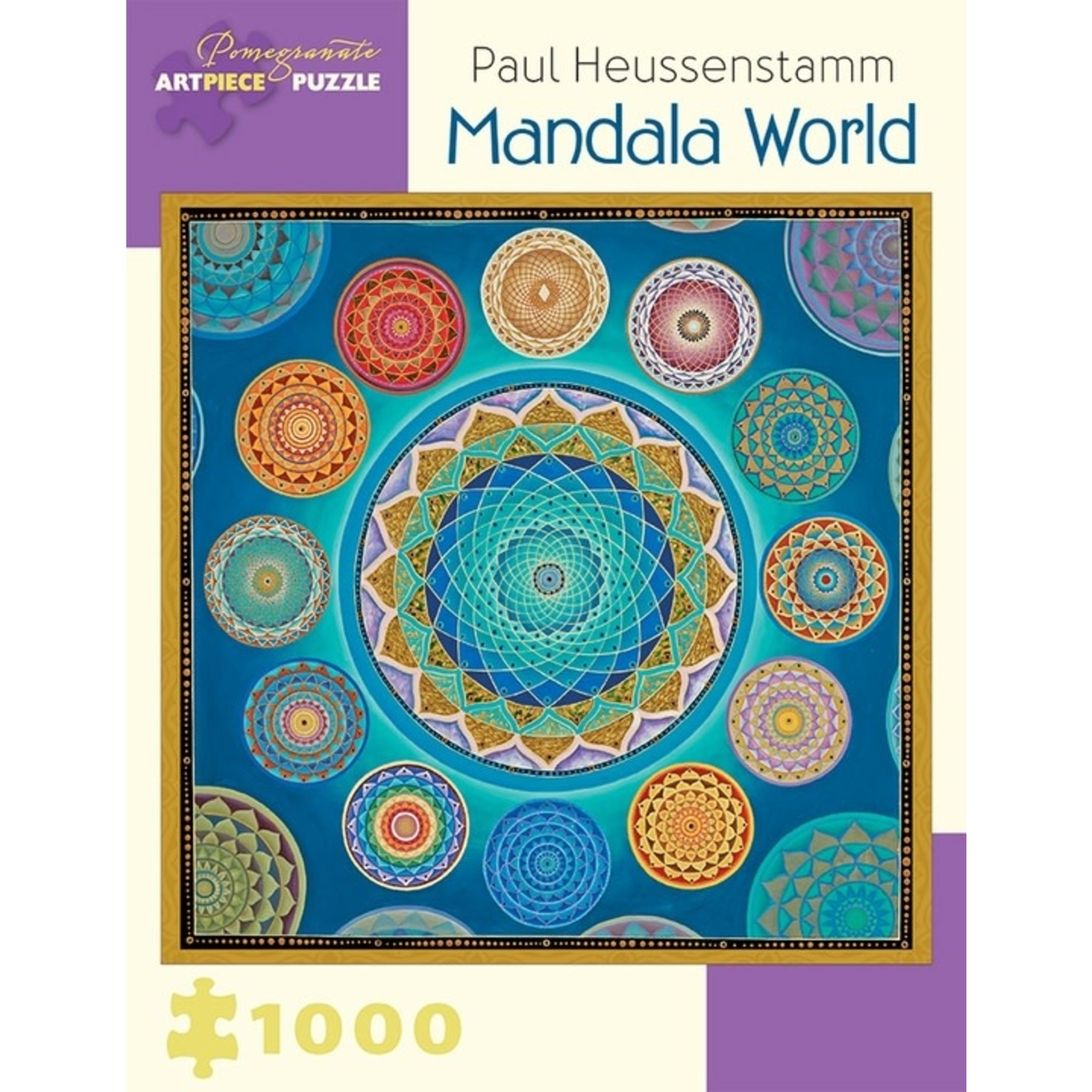 Pomegranate Pomegranate - 1000 Piece Puzzle: Mandala World