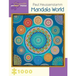 Pomegranate Pomegranate - 1000 Piece Puzzle: Mandala World