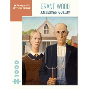 Pomegranate Pomegranate - 1000 Piece Puzzle: American Gothic
