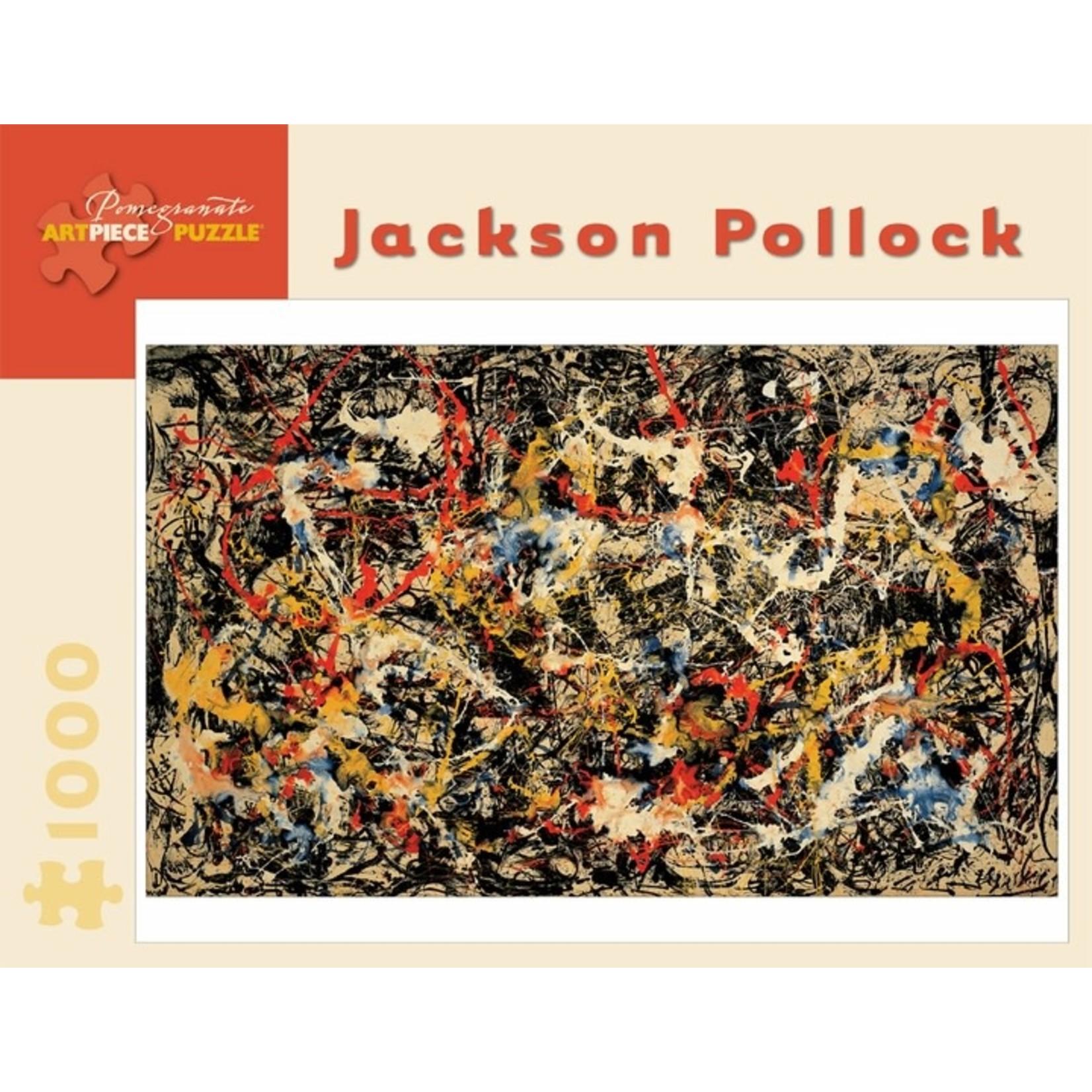Pomegranate Pomegranate - 1000 Piece Puzzle: Jackson Pollock Convergence