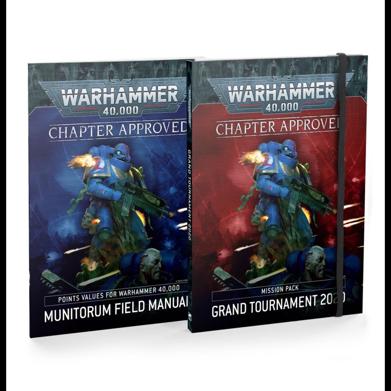 Games Workshop Warhammer 40k: Chapter Approved 2020