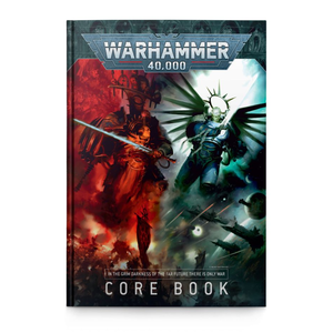 Games Workshop Warhammer 40k: 9th Edition Core Rulebook