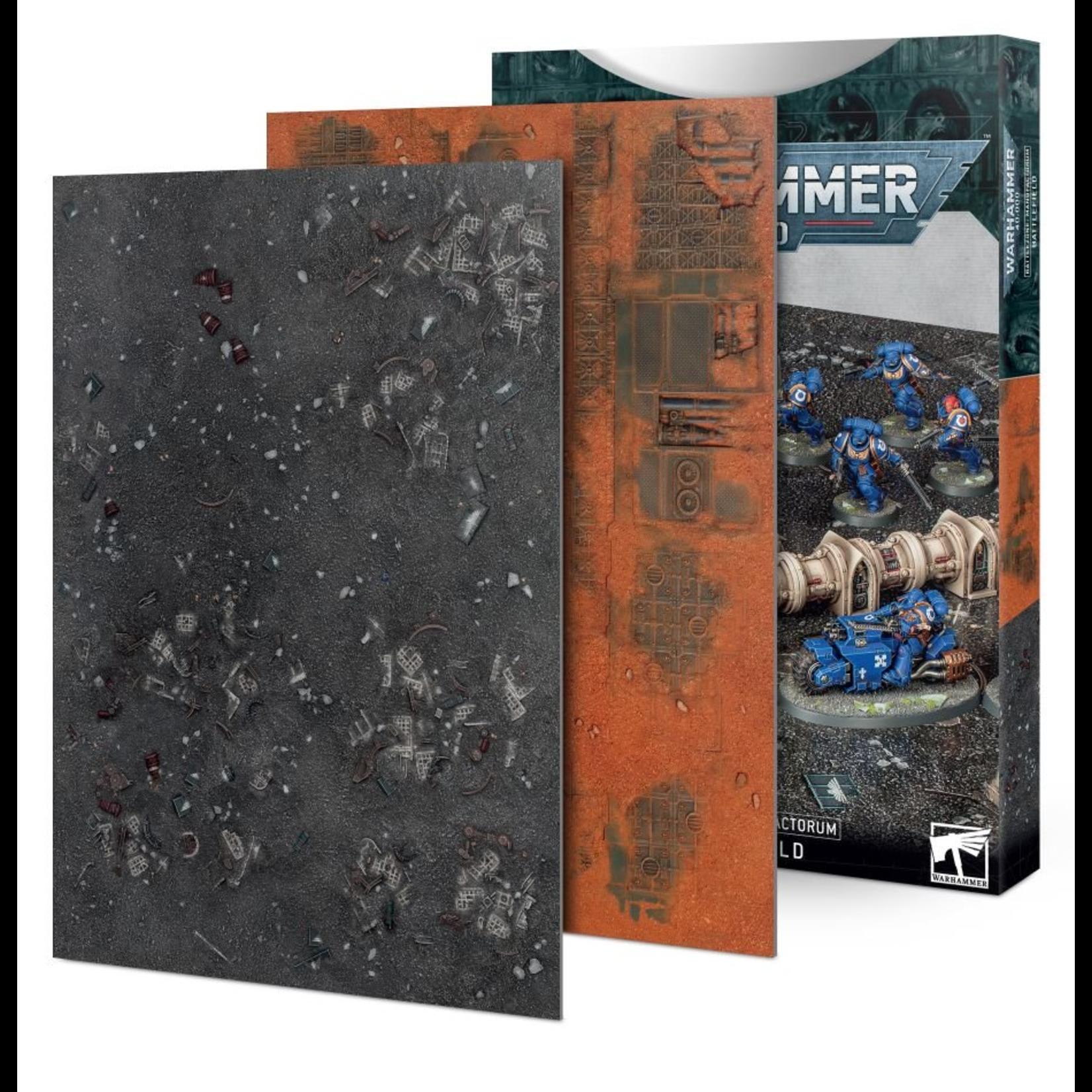 Games Workshop Warhammer 40k: Battlezone: Manufactorum Battlefield