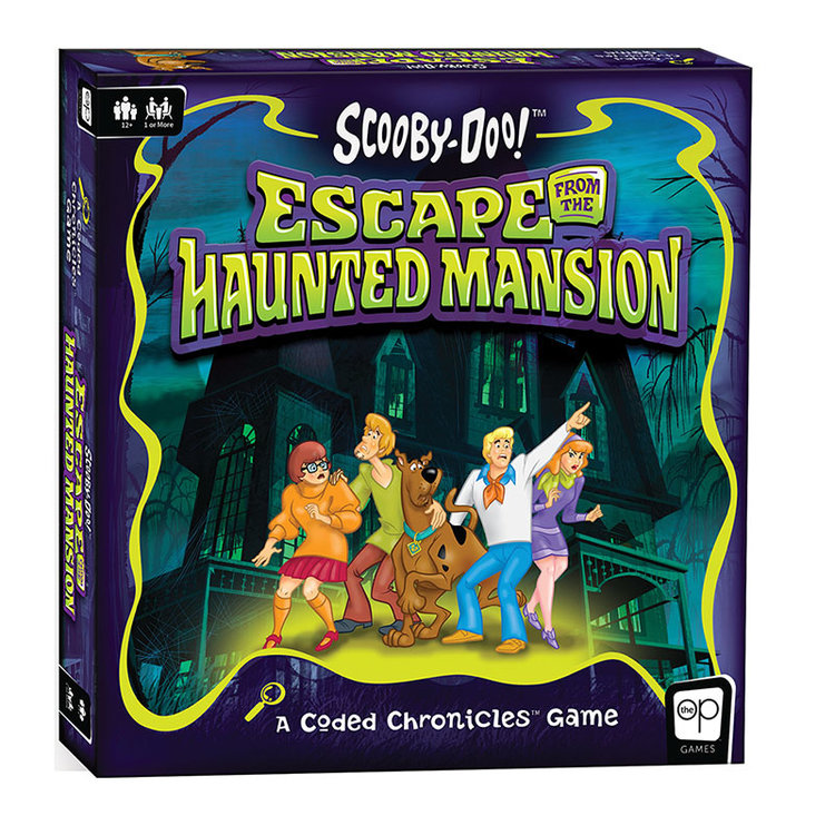 USAopoly Coded Chronicles: Scooby Doo - Escape from Haunted Mansion