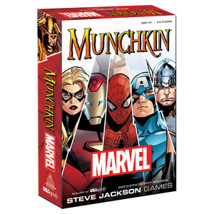 USAopoly Munchkin Marvel Core Set