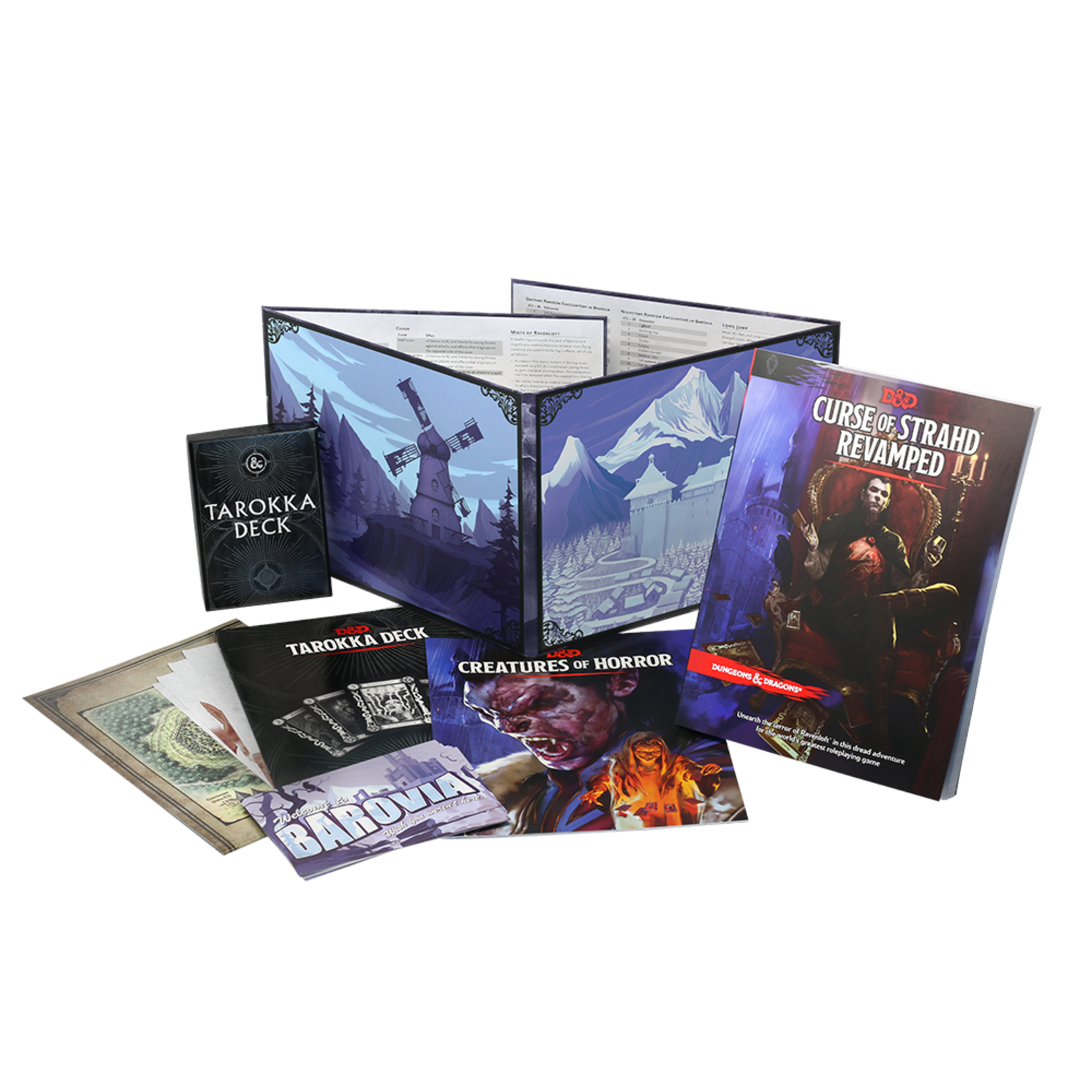 Wizards of the Coast Dungeons and Dragons Fifth Edition: Curse of Strahd Revamped