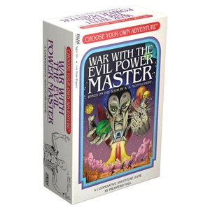 Z-Man Choose Your Own Adventure: War with the Evil Power Master