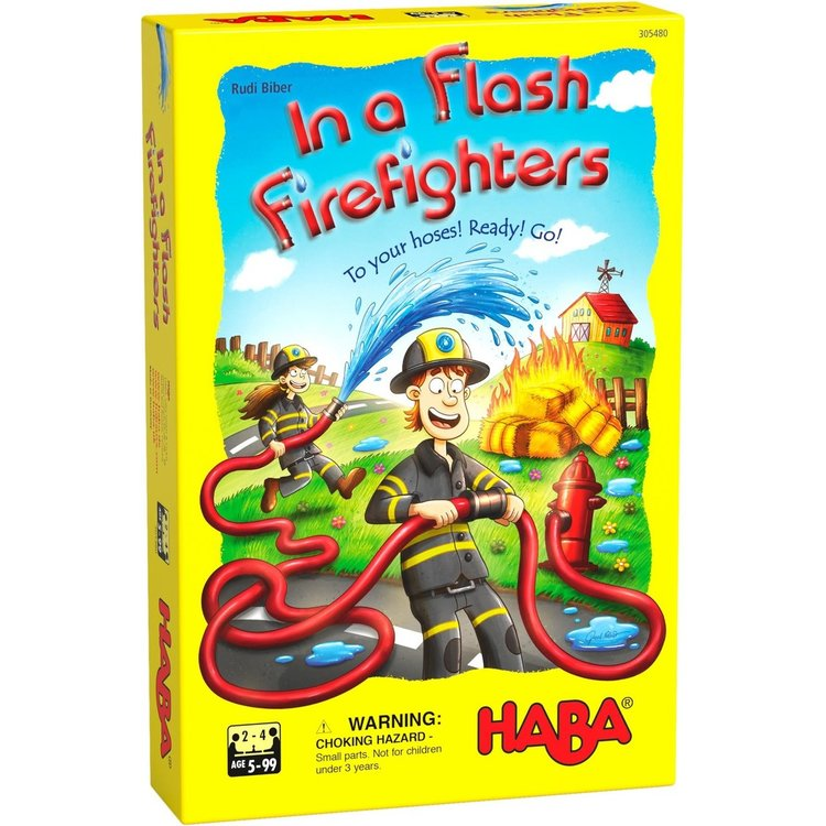 Haba In a Flash! Firefighters