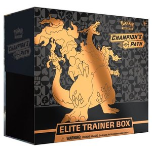 Pokemon International Pokémon TCG: Champion's Path Elite Trainer Box