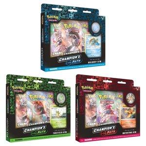 Pokemon International Pokémon TCG: Champion's Path Pin Collection (Turffield, Hulbury, and Motostoke)
