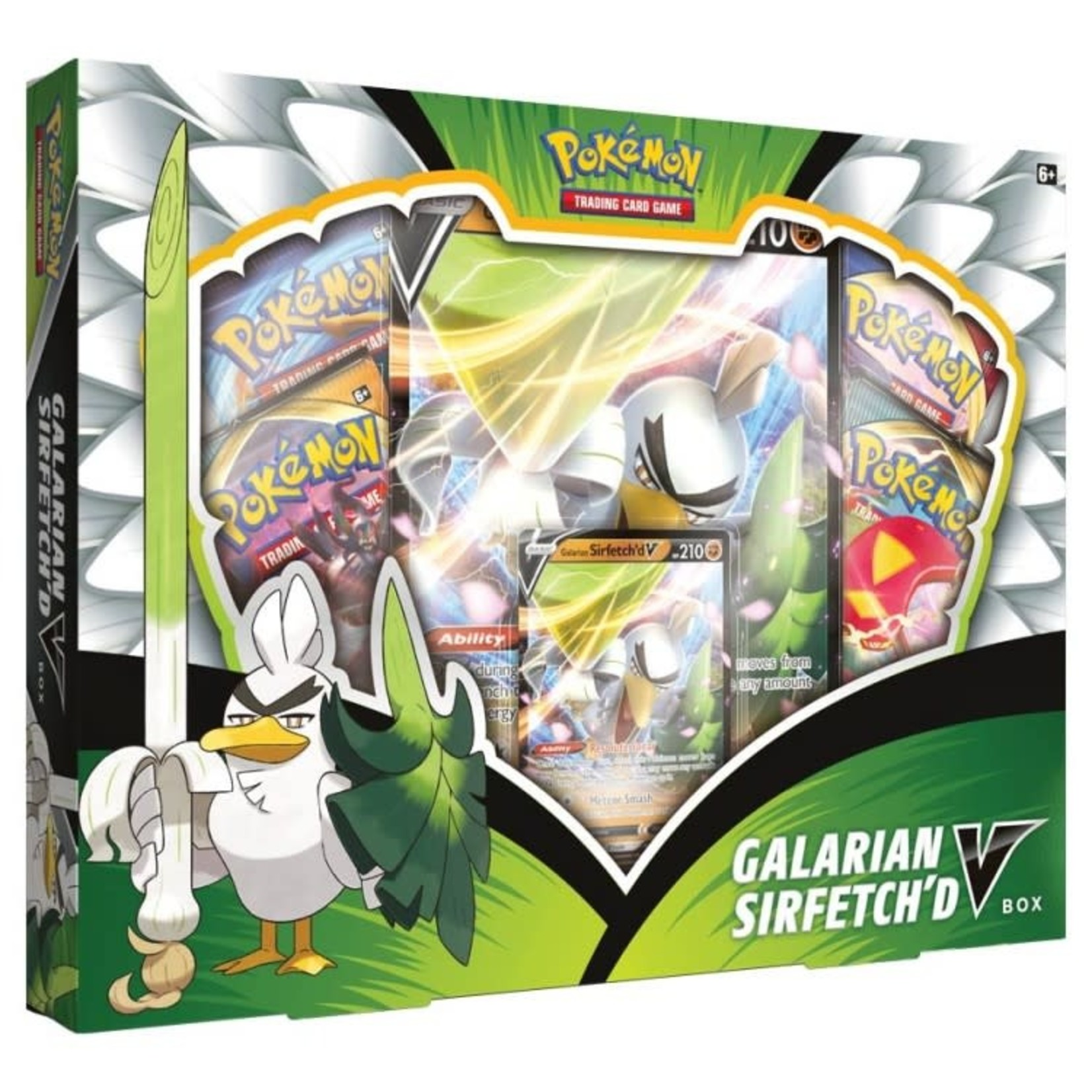 Pokemon International Pokémon TCG: Galarian Sirfetch'd V Box