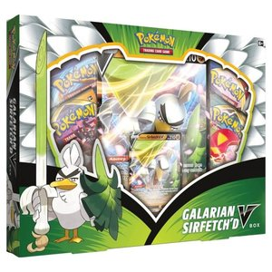 Pokemon International Pokémon TCG: Galarian Sirfetch'd V Box