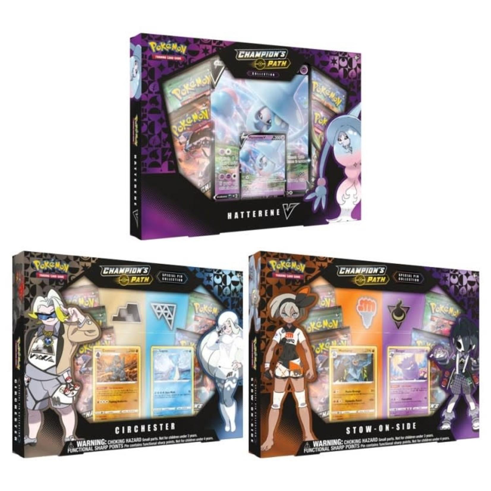 Pokemon International Pokémon TCG: Champion's Path Special Pin Collection