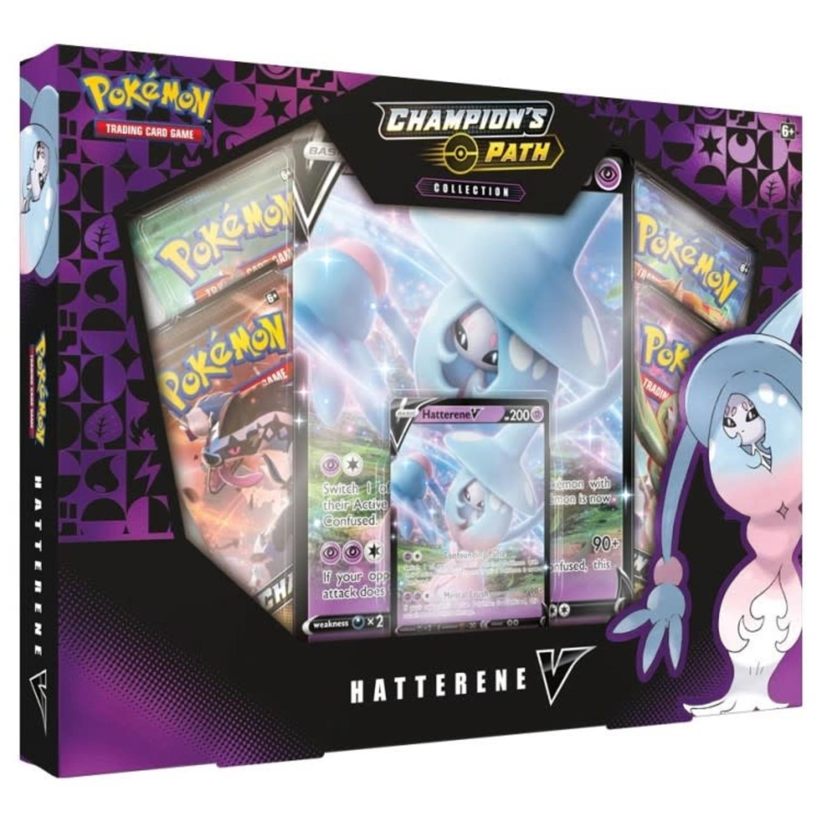 Pokemon International Pokémon TCG: Champion's Path Collection: Hatterene V