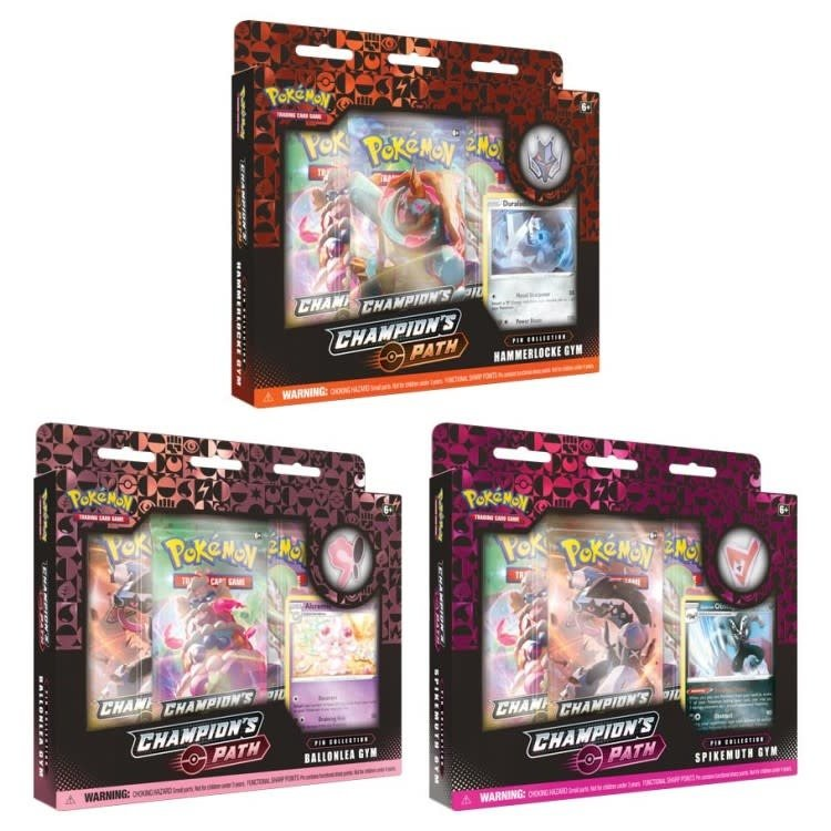Pokemon International Pokémon TCG: Champion's Path Pin Collection (Ballonlea, Spikemuth, Hammerlocke)