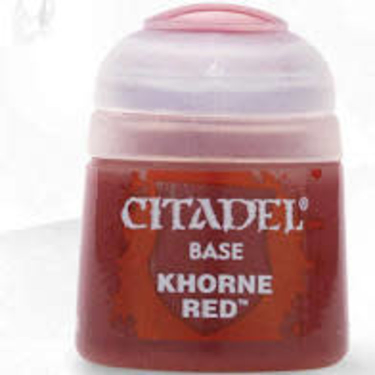 Citadel Citadel Paint - Base: Khorne Red