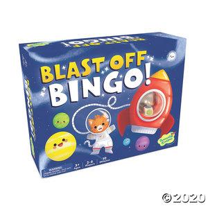 Peaceable Kingdom Blast-off, Bingo!