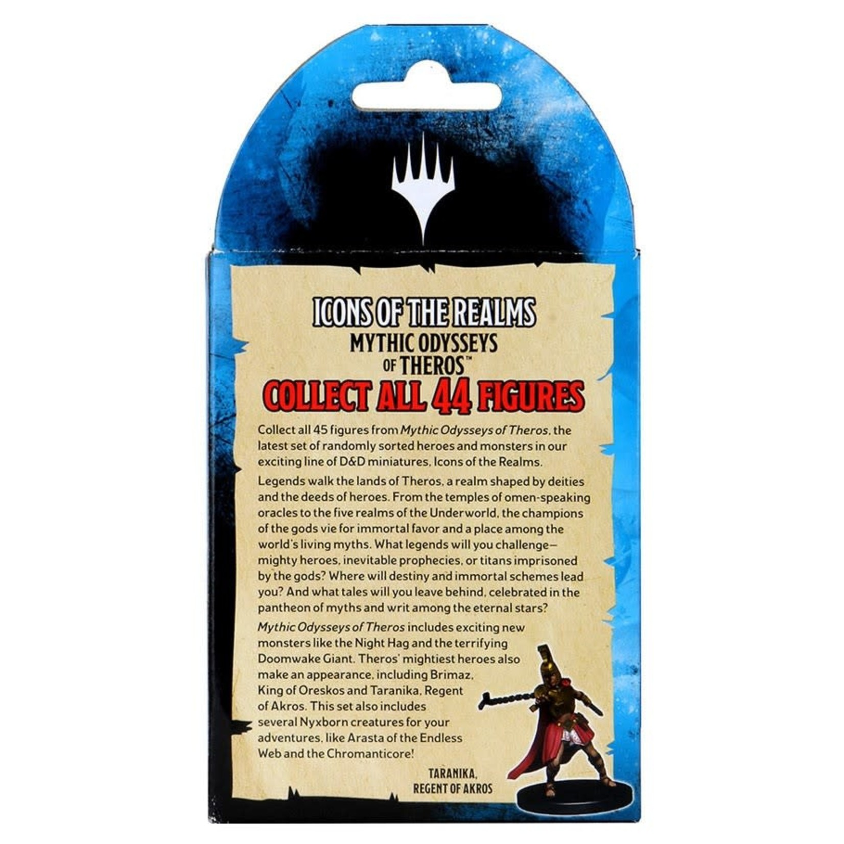 WizKids Dungeons & Dragons: Icons of the Realms:Mythic Odysseys of Theros Booster Brick (8)