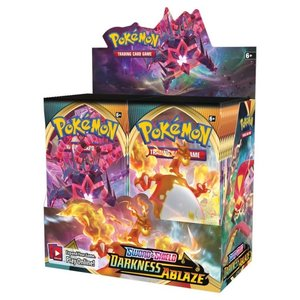 Pokemon International Pokemon Sword and Shield Darkness Ablaze Booster Box