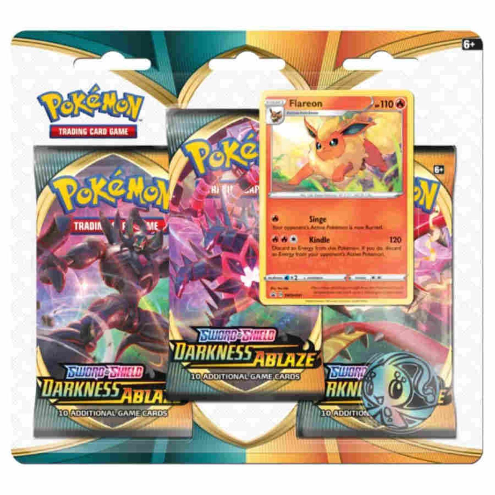 Pokemon International Pokemon Trading Card Game: Darkness Ablaze 3-Booster Blister