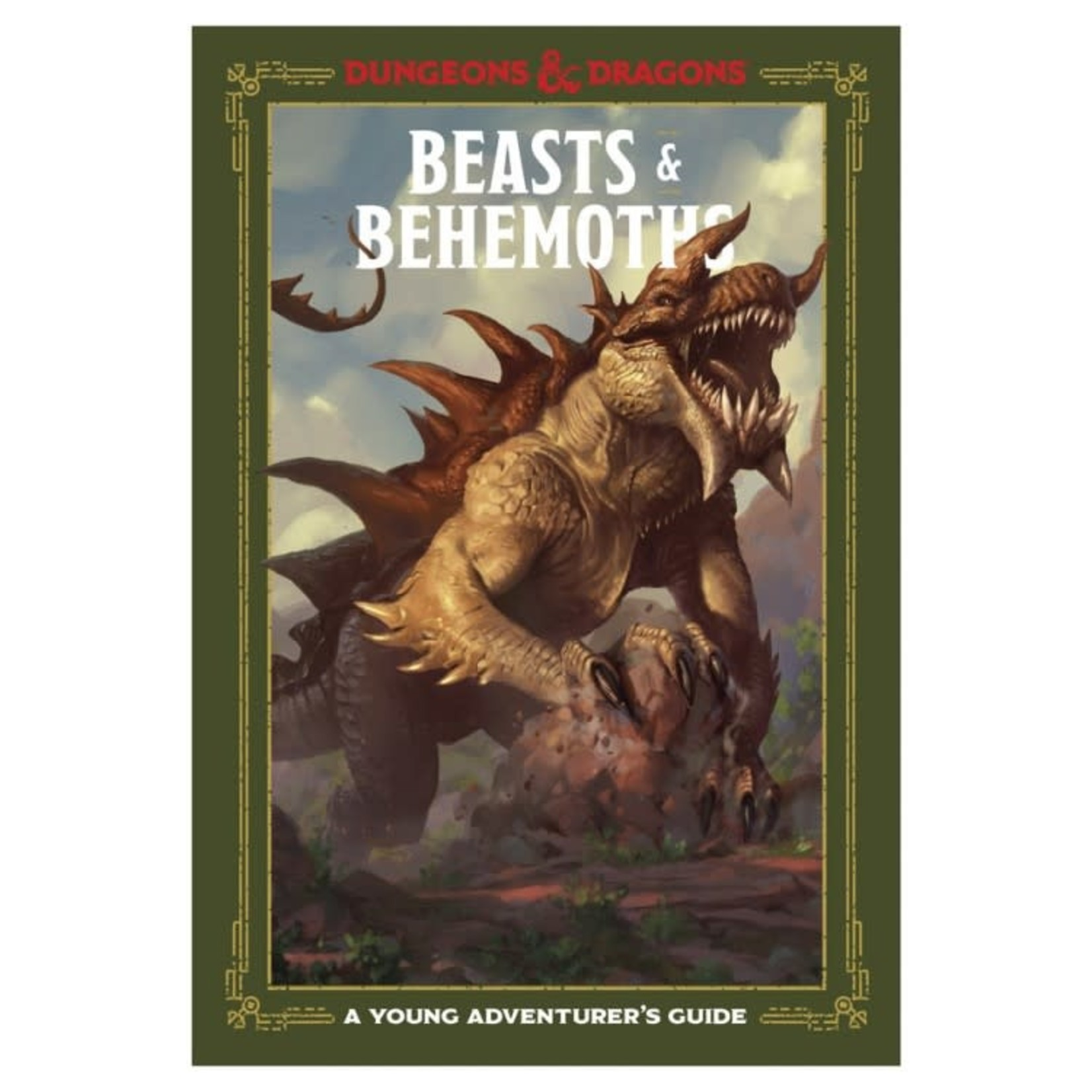 Penguin Random House Dungeons and Dragons: Young Adventurer's Guide: Beasts & Behemoths