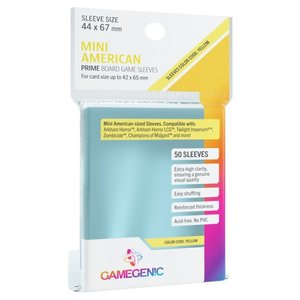Gamegenic Gamegenic Sleeves: Mini American PRIME - 50 count (44x67mm)