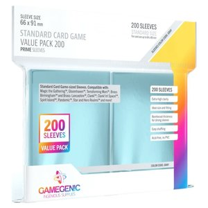Gamegenic Gamegenic Sleeves: Standard Card Game PRIME Value Pack -200 count (66x91mm)