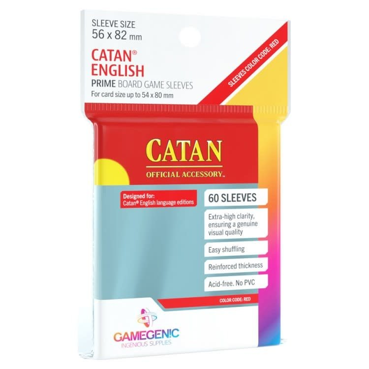 Gamegenic Gamegenic Sleeves: Catan PRIME - 60 count  (56x82mm)