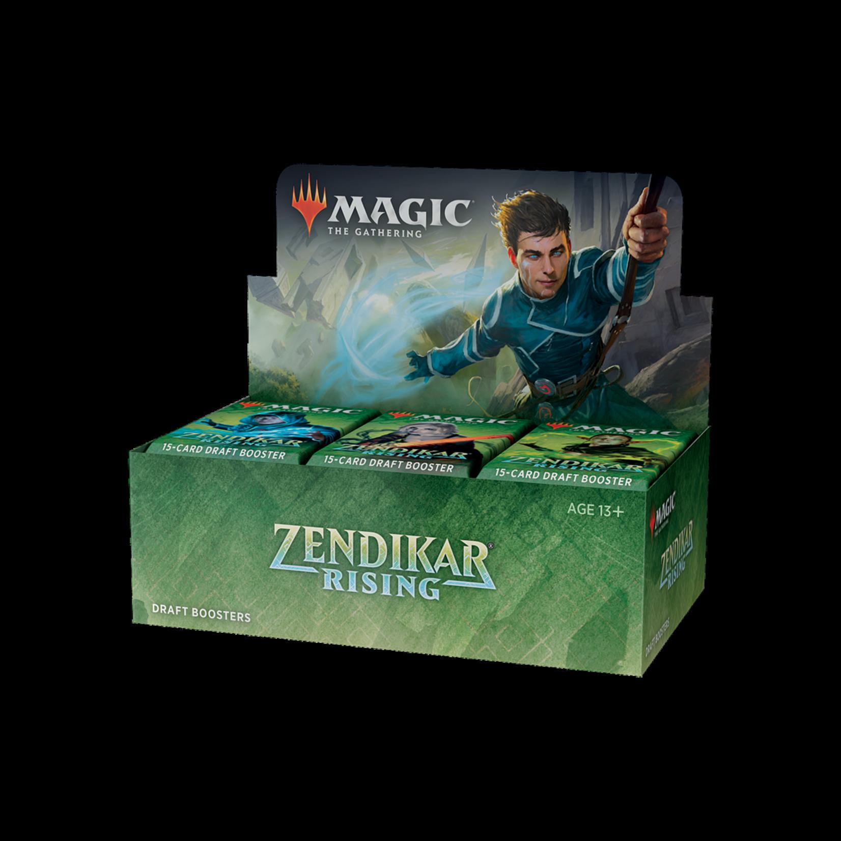 Wizards of the Coast Magic the Gathering: Zendikar Rising - Draft Booster Box