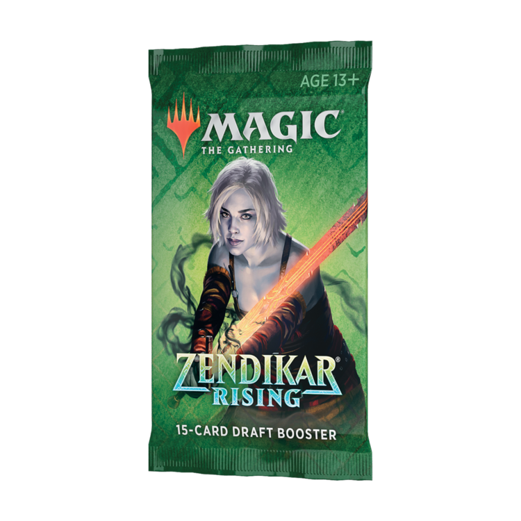Wizards of the Coast Magic the Gathering: Zendikar Rising - Draft Booster Pack