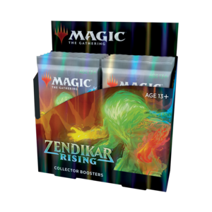 Wizards of the Coast Magic the Gathering: Zendikar Rising - Collectors Booster Box